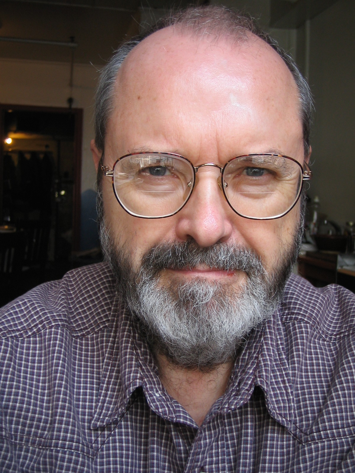 Phill Niblock portrait!