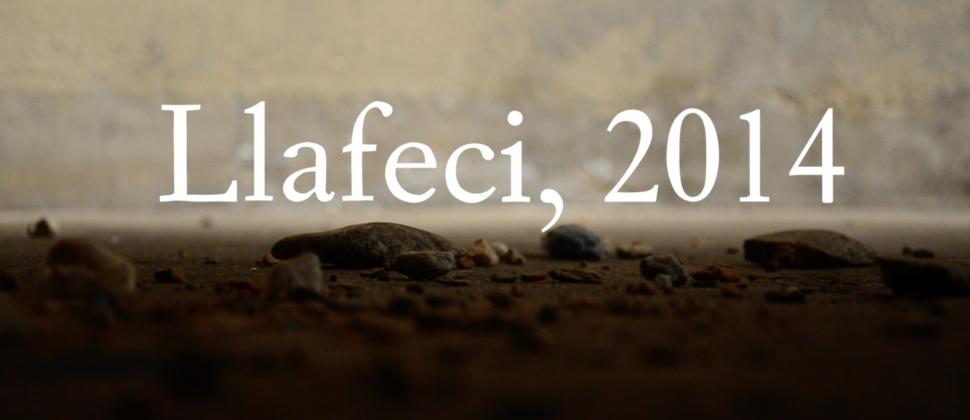 Llafeci: a composition for cello, rocks & poles, 2014