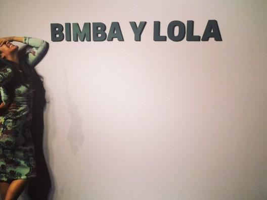 Maria Chavez DJing for BIMBA y LOLA FW 2014